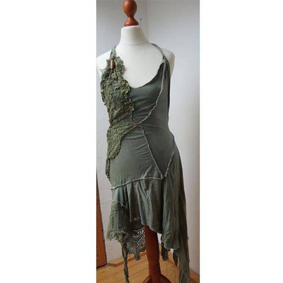 Kleid Brautkleid Abendkleid Goa Hippie Boho Elfe Gipsy