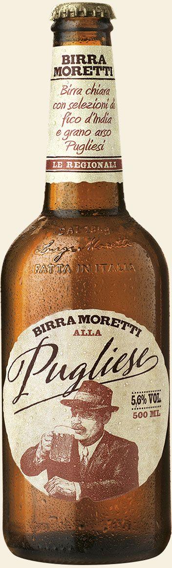 Birra Moretti alla Pugliese (lager al fico d'india e grano arso)