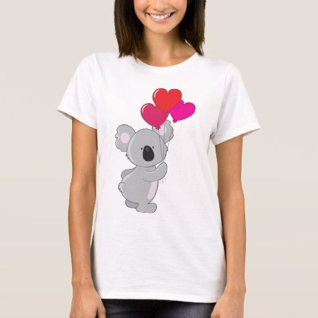 Koala Heart Balloons T-Shirt - click to get yours right now!