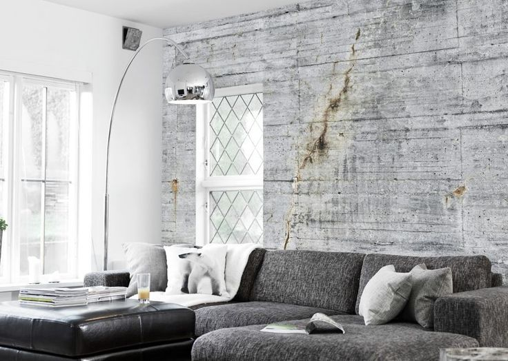 Concrete Wallpaper Collection Concrete Wallpapers By Tom Haga For An  Industrial Look. Find This Pin And ...