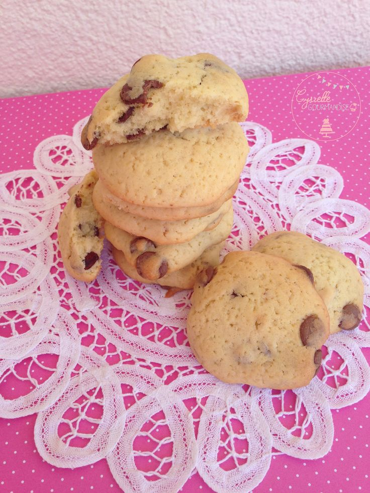 Cookies Moelleux chocolat au lait – Recette Michalak | Cyrielle Gourmandise
