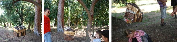 piñata coffre au trésor