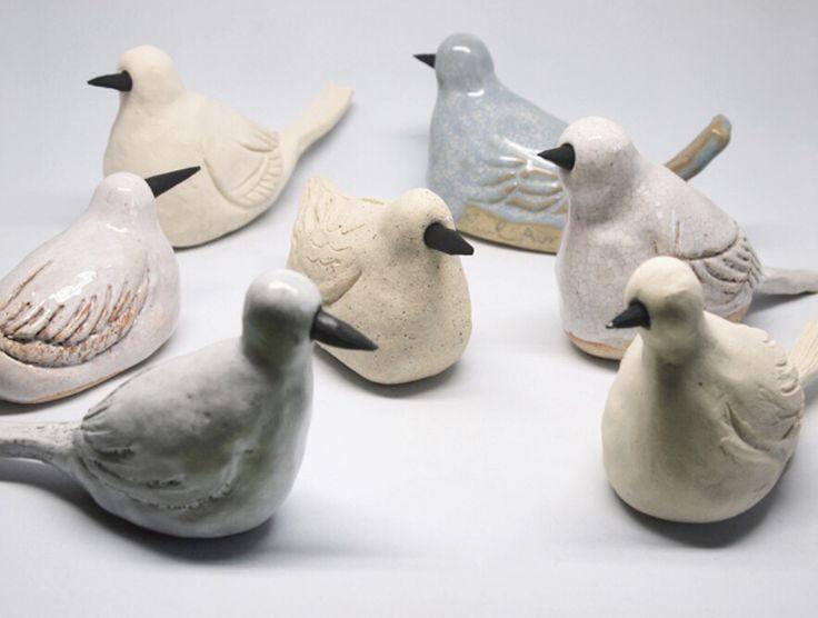 ZiZi 지지   Birds  Ceramic Bird Call  atelier shop PAUL AVRIL 폴 아브릴