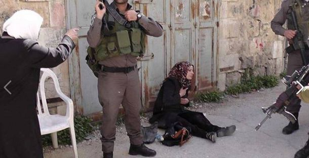 Blood Libel Of The Day: The Case Of The Palestinian Woman On The Ground | Israellycool