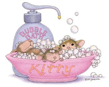 """Spa"" from House-Mouse Designs®. This image was recently purchased as a rubber stamp. Click on the image to see it on a bunch of other really ""Mice"" products."