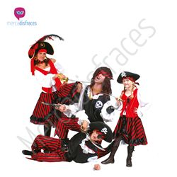 Disfraces para grupos Piratas a Rayas. En mercadisfraces tu tienda de disfraces online, aquí podrás comprar tus disfraces para Carnaval o cualquier fiesta temática. Para mas info contacta con nosotros http://mercadisfraces.es/disfraces-para-grupos/?p=7