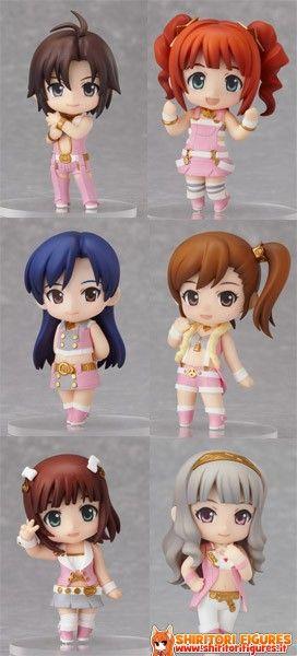 The Idolmaster 2 Mini Figures Nendoroid Stage 01 Case 7 cm  ( Good Smile Company )
