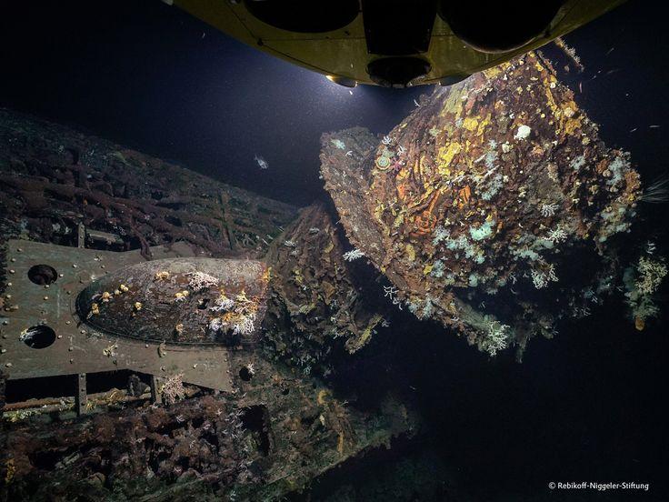 On the sea bed off the #Azores islands, the #LULA 1000 #research #submarine has discovered the German #U-boat U 581 #originalplexiglas #plexiglas #evonikplexiglas #acrylic #science #technology #uboat #underwater