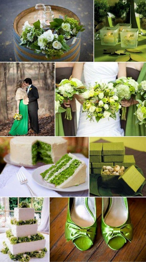 зеленый, светло-зеленый, салатовый, зеленые оттенки, свадебное оформление, свадебный декор, оформление свадебного стола, свадебный торт, свадебный букет; букет невесты; green, lime, green shades, wedding decoration, wedding cake; bridal bouquet