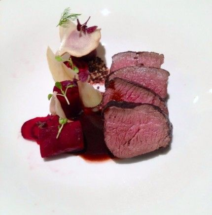 Blackened Venison with Cocoa, Beetroot, Jerusalem Artichoke Recipe | Best Home Chef