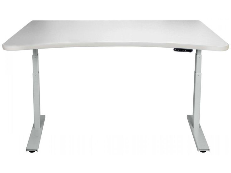 custom standing desk kidney shaped mid. 980 adjustable standing desks custom desk kidney shaped mid
