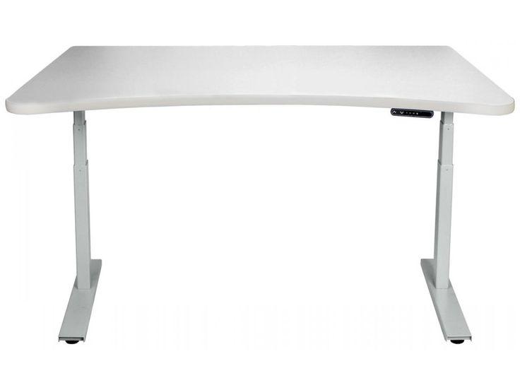 custom standing desk kidney shaped mid. 980 adjustable standing desks custom desk kidney shaped mid