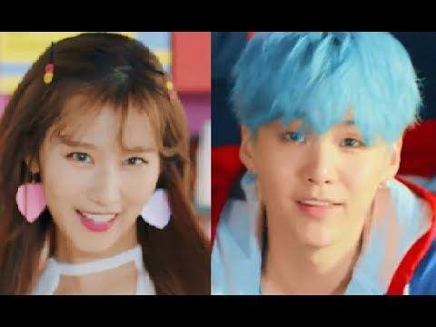TWICE/BTS - LIKEY/DNA MASHUP [by RYUSERALOVER] - YouTube