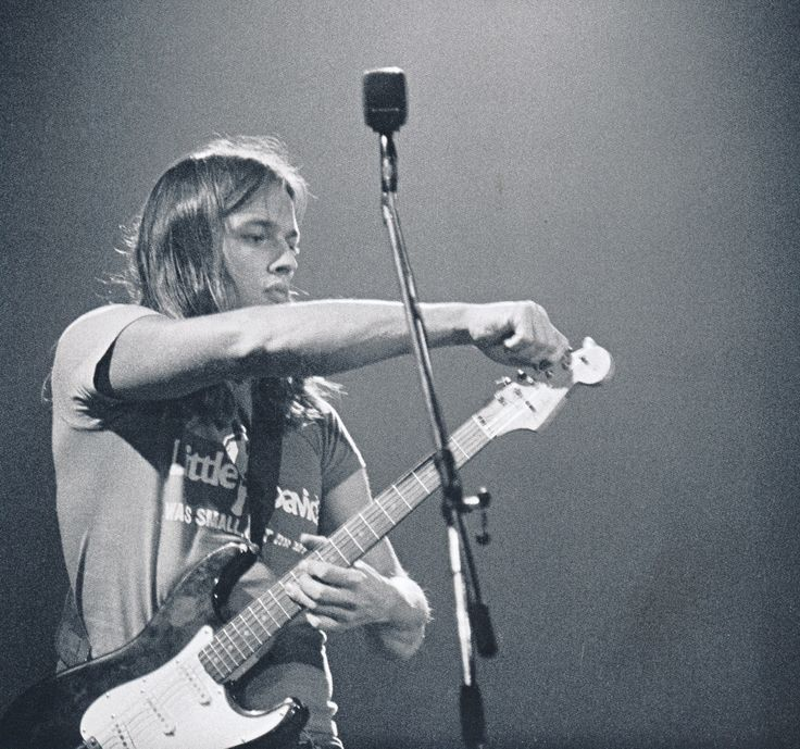 David Gilmour, Wembley Empire Pool, Oct 1972