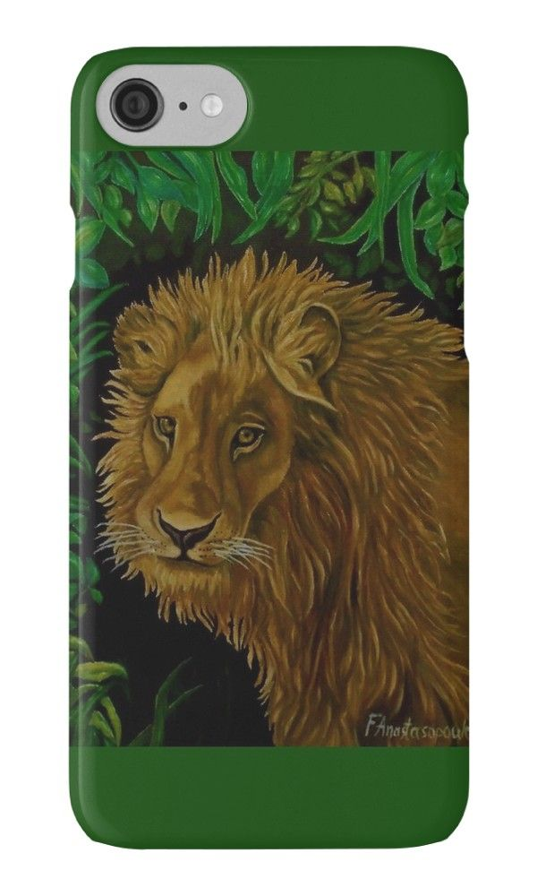 IPhone Case,  green,colorful,cool,beautiful,fancy,unique,trendy,artistic,awesome,fahionable,unusual,accessories,for sale,design,items,products,gifts,presents,ideas,lion,african,portrait,animal,wildlife,redbubble