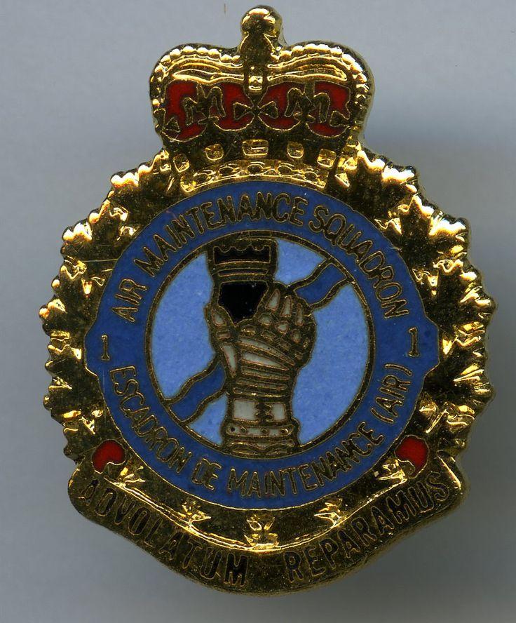 RCAF 1 Air Maintenance Squadron Badge, Fraud