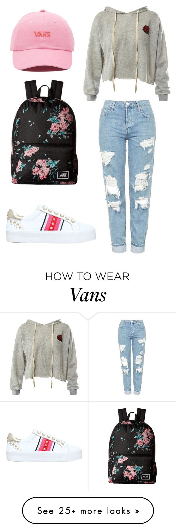 """""""School outfits"""" by aneta200 on Polyvore featuring Sans Souci, Carvela, Topshop and Vans"""