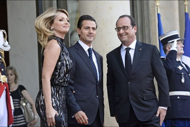 "Hollande aurait dit à la Mexican First Lady Angelica Rivera : ""Tu mexiques !"""
