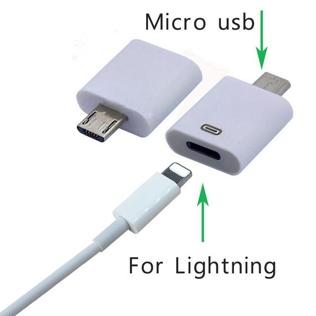 8pin Usb Cable Adapter For Iphone 5s 6s For Lightning To Micro Usb Android Mobile Phone Cables Connector For Samsung Htc Review Phone Cables Micro Usb Usb