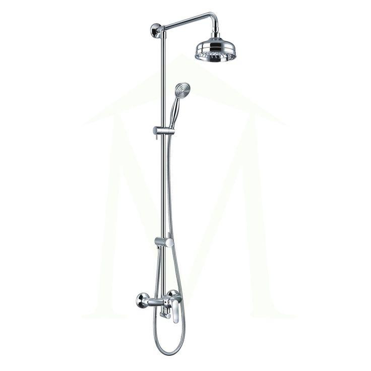 Omnires Art Deco System prysznicowy natynkowy chrom AD5144
