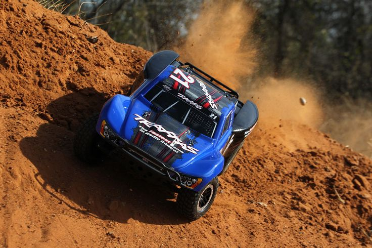 Slash VXL: 1/10 Scale 2WD Short Course Racing Truck with TQi Traxxas Link Enabled 2.4GHz Radio System   Traxxas