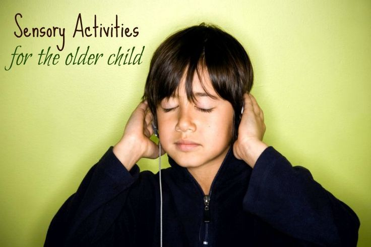 """10 """"Grown Up"""" Sensory Activities for an Older Child and/or Teenager...."""