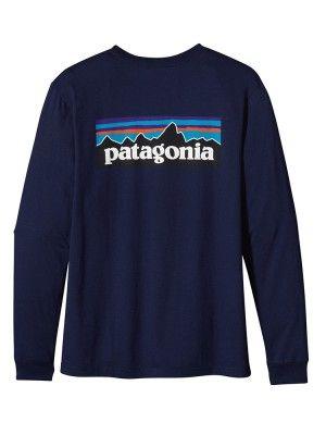 Patagonia Men's Long Sleeve P-6 Logo T-shirt
