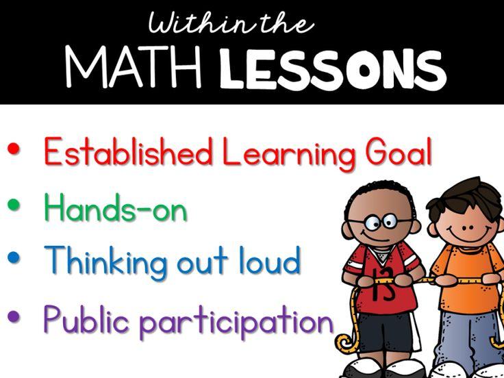 Guided Math Tunstall's Teaching Tidbits Guided math