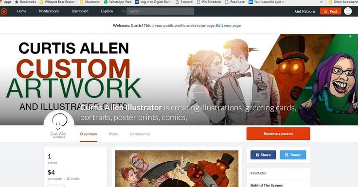 I got myself a #Patreon! With your help I can produce more exciting artwork and gifts and you get rewards for pledging! http://ift.tt/2khc3XP  #nowonpatreon #pledge #illustrator #support #help #artshelp #supportthearts #freelancer #living #work #drawing #drawstagram #artstagram #artistsoninstagram #artistsofinstagram #donate #patronage #patron #patronise #fund #fundme #helpme #strugglingartist #starvingartist #pledges #drawing #drawstagram #reward #bonus