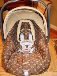 Louis Vuitton Car Seat