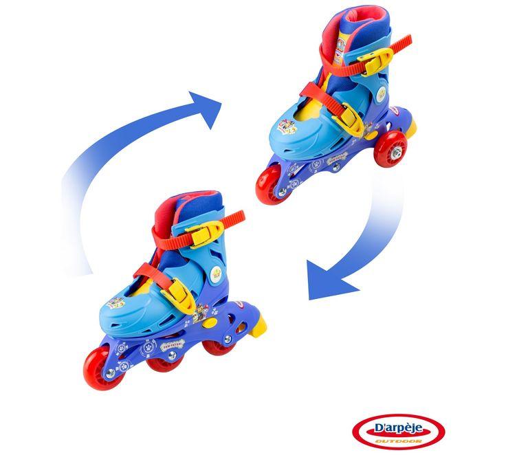 Buy PAW Patrol 2-in-1 Inline Skates at Argos.co.uk, visit Argos.co.uk to shop online for Skates and inline skates, Wheeled toys, Outdoor toys, Toys