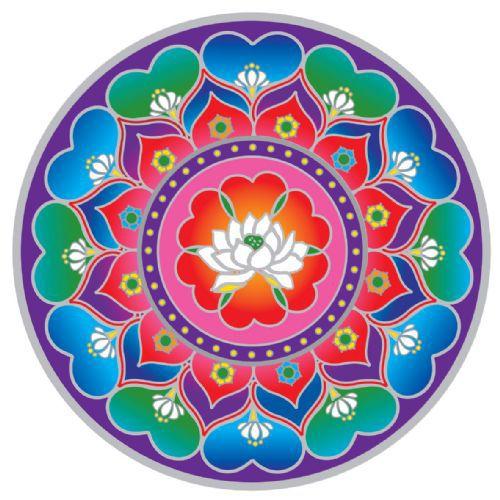 LaBelle Mariposa  - lotus mandalas - Google Search