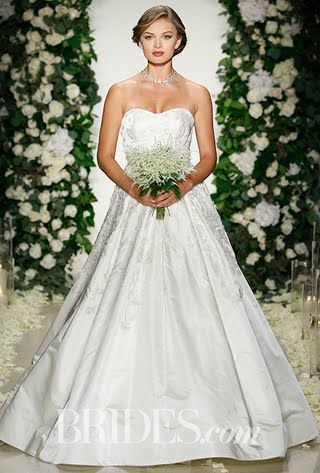 Anne Barge Wedding Dresses - Fall 2016 - Bridal Runway Shows - Brides.com | Brides.com