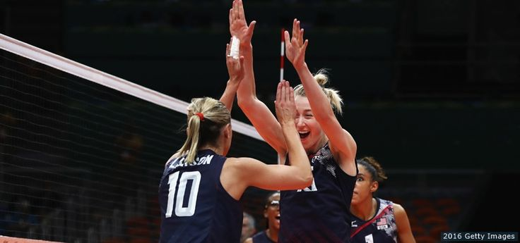 U.S. Women's Volleyball Defeats Netherlands For Bronze, Ends Rio Olympics On…