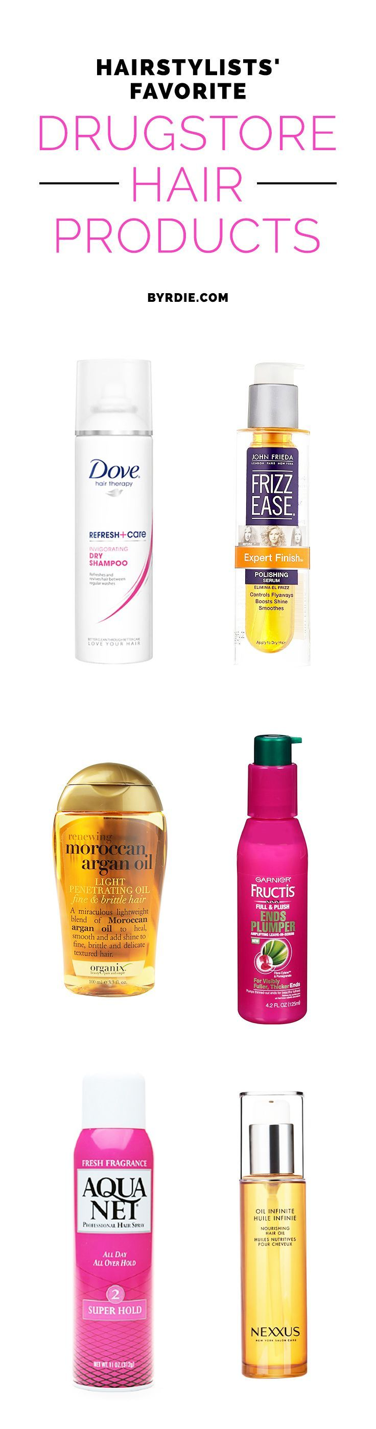 10 Drugstore Hair Products Stylists Live By