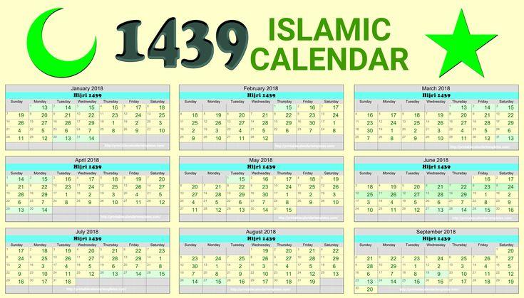 Image result for islamic calendar 2018