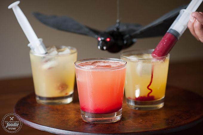 Halloween is on a Friday night which means candy and cocktails, thank you very much. Check out these Halloween cocktail recipes to start the weekend right.