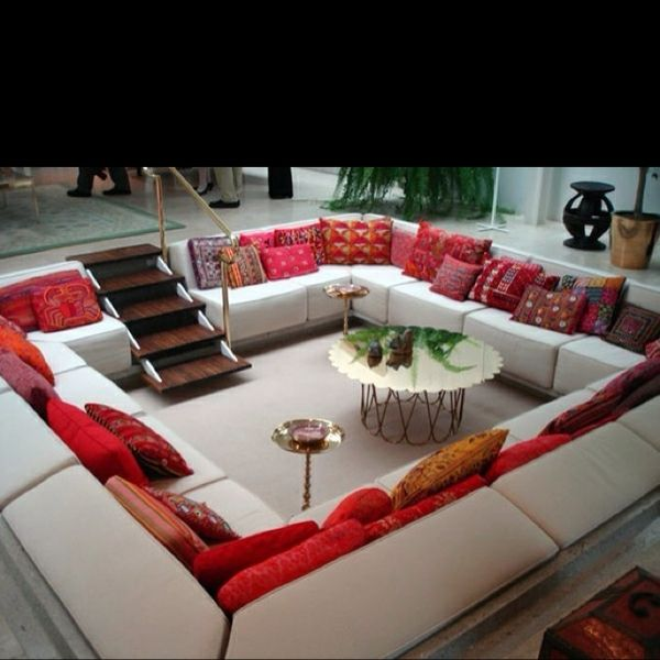 Sweet family room! OH, there's my dream! in different colors