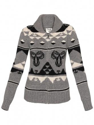 I love TNA sweaters from Aritizia!