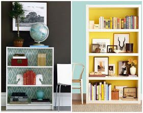 The Design Chaser: Bookshelves | Ideas for the Home
