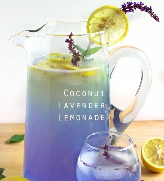 Coconut Lavender Lemonade #lemonade #foodie #dan330 http://livedan330.com/2015/04/21/coconut-lavender-lemonade/