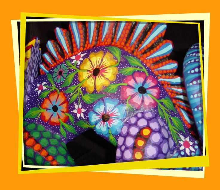 mexican flowers - | Mexican handcrafts and art | Pinterest