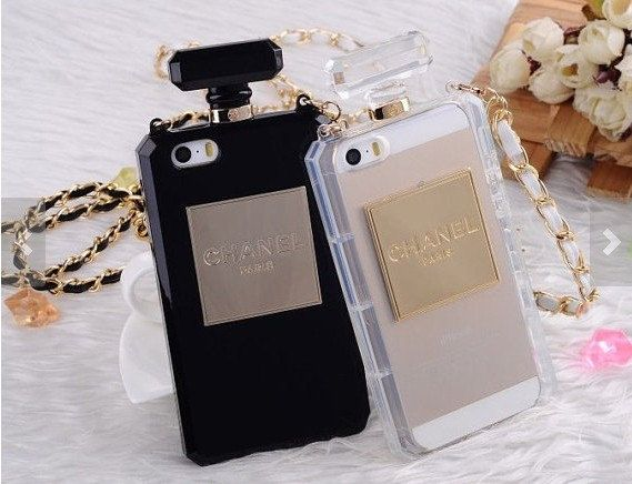 Perfume bottles iPhone 5 case iPhone 5S case iPhone 4/4s Samsung galaxy s4 Note2 Note3 cell phone cover black white on Etsy, $21.99
