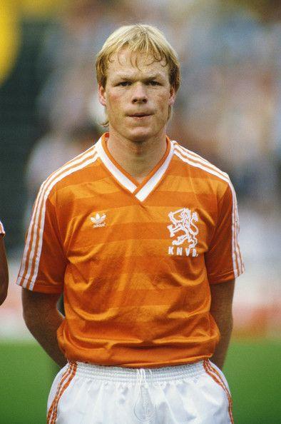 Dutch football player, Ronald Koeman ~ Groningen, Ajax, PSV, Barcelona & Feyenoord