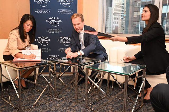 الدكتورة رانيا المشاط توقع خطاب نوايا لتنفيذ مشروع محفز سد الفجوة النوعية في مصر مع المجلس القومى للمرأة ومنتدى الاقتصاد العالمى خلال زيارتها للولايات المتحدة Places To Visit Visiting Places