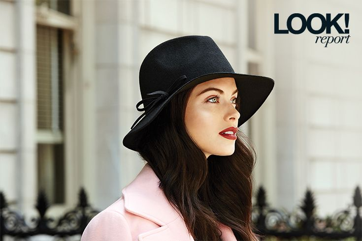 A stylish floppy hat is the perfect complement to your favourite fall outfit