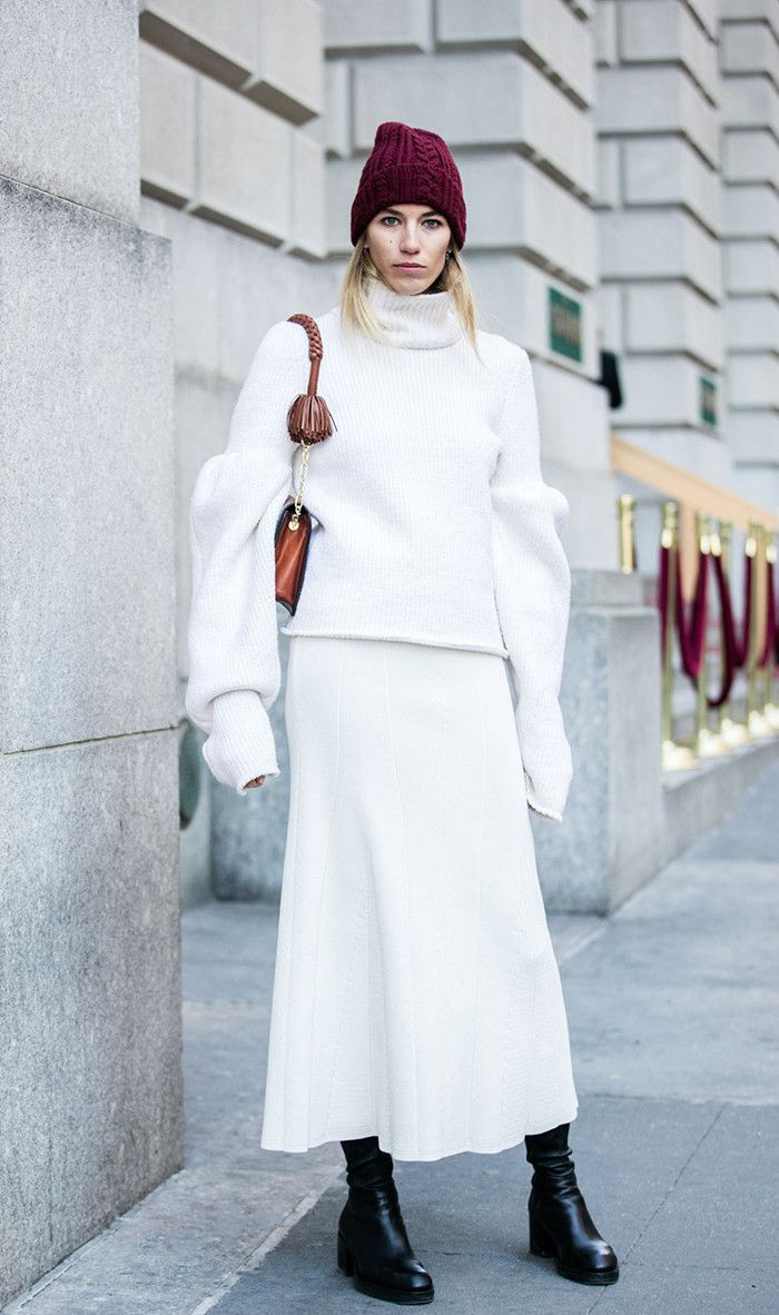 293 best Blanc - Head to Toe images on Pinterest | New york ...