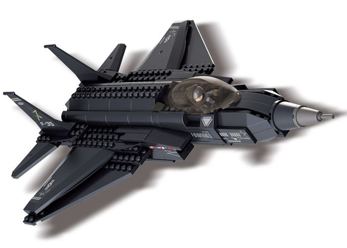 SLUBAN LEGO LIGHTNING-II FIGHTER AIRCRAFT