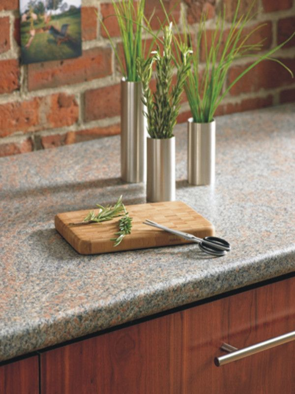 # Surfaces : Choose Surfaces That Are Easy To Clean And Care For.  Solid Surfacing, Such As # Granite And # Laminate , Is A Great Option.