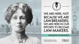 Image result for emmeline pankhurst quotes